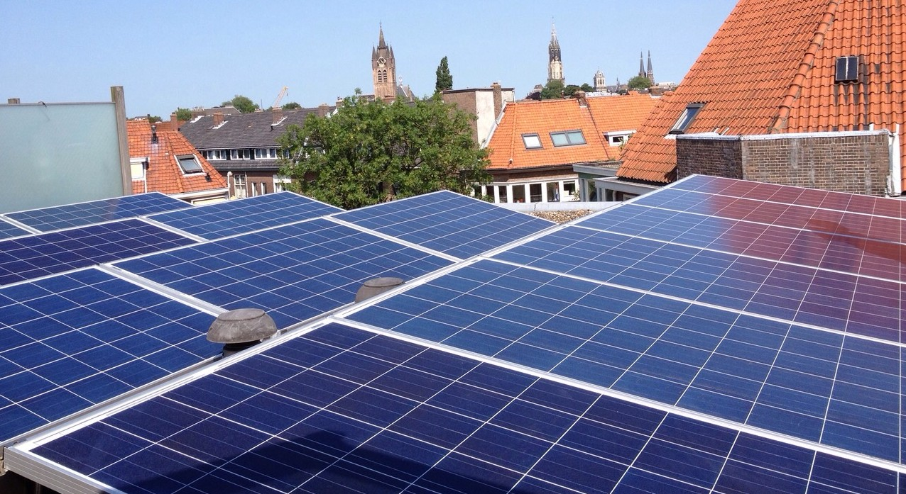zonnepanelen te Delft