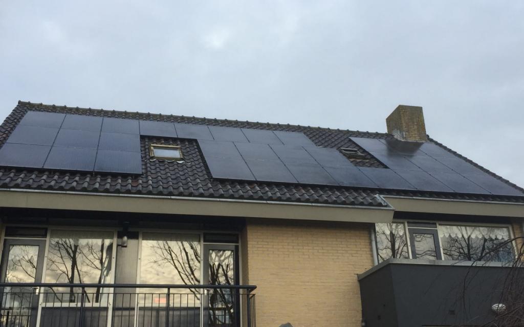 zonnepanelen in Leiderdorp